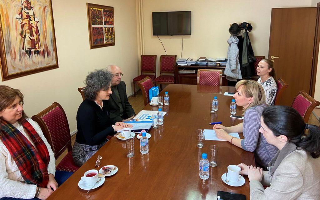Среща между представители на сдружение Алцхаймер България и омбудсмана на България